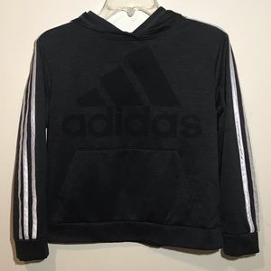 Adidas Long-sleeved Hoodie, Kid's Medium